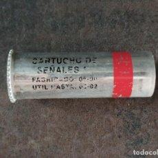Militaria: CARTUCHO DE SEÑALES ROJO 26.5X80MM MARCA EXPAL INERTE. Lote 267796894