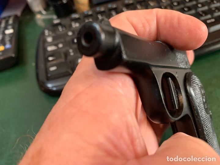 Militaria: Pequeña Pistola de Metal, de pistones asusta-Perros, años 30/50 Marca T.E.E. - Foto 8 - 268620379