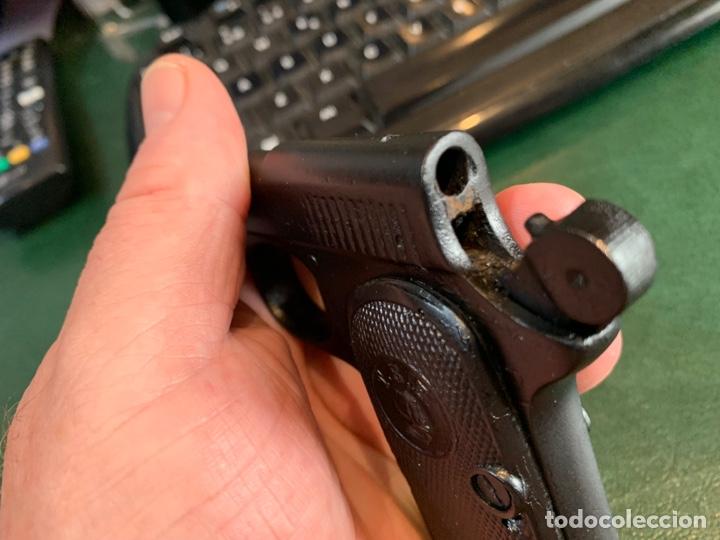 Militaria: Pequeña Pistola de Metal, de pistones asusta-Perros, años 30/50 Marca T.E.E. - Foto 10 - 268620379