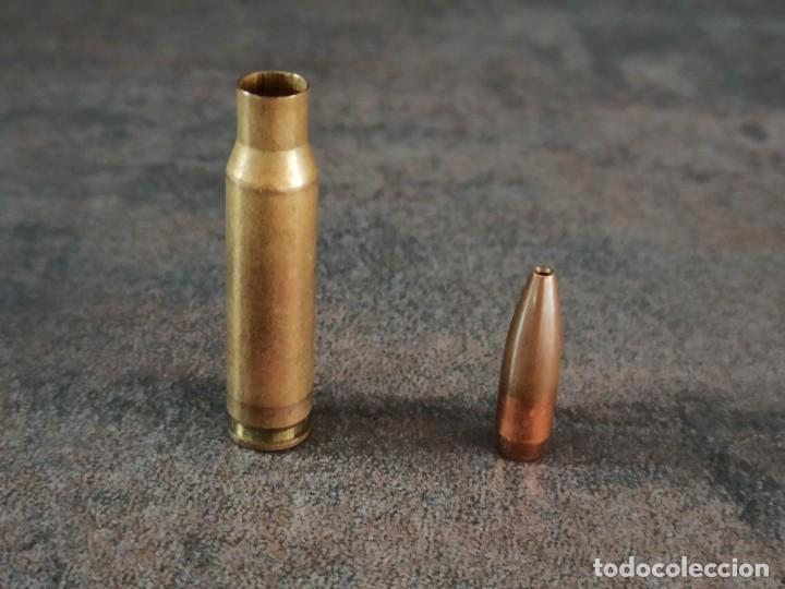 Militaria: CARTUCHO 308 PUNTA HUECA T P INERTE - Foto 2 - 268976419