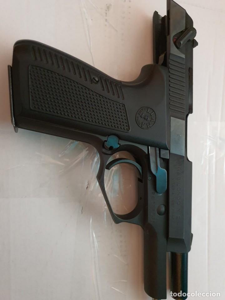 PISTOLA LLAMA M-82 INUTILIZADA (Militar - Armas de Fuego Inutilizadas)