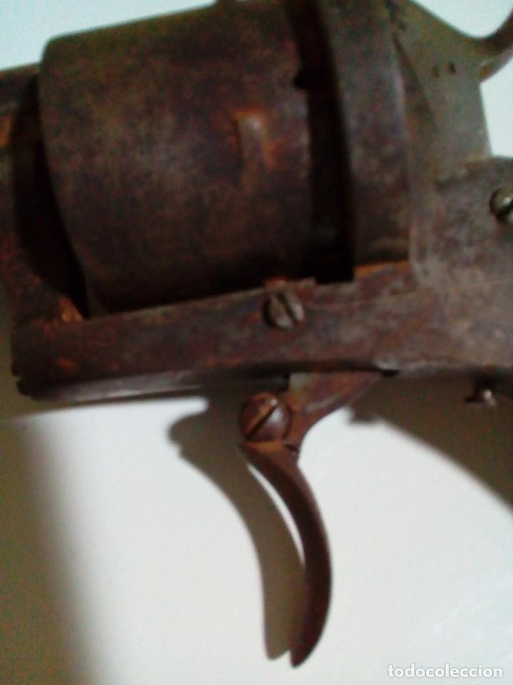 Militaria: Revolver percusión Lefaucheaux enmarcado en bonito cuadro para coleccionistas - Foto 10 - 270139708