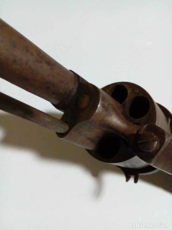 Militaria: Revolver percusión Lefaucheaux enmarcado en bonito cuadro para coleccionistas - Foto 12 - 270139708