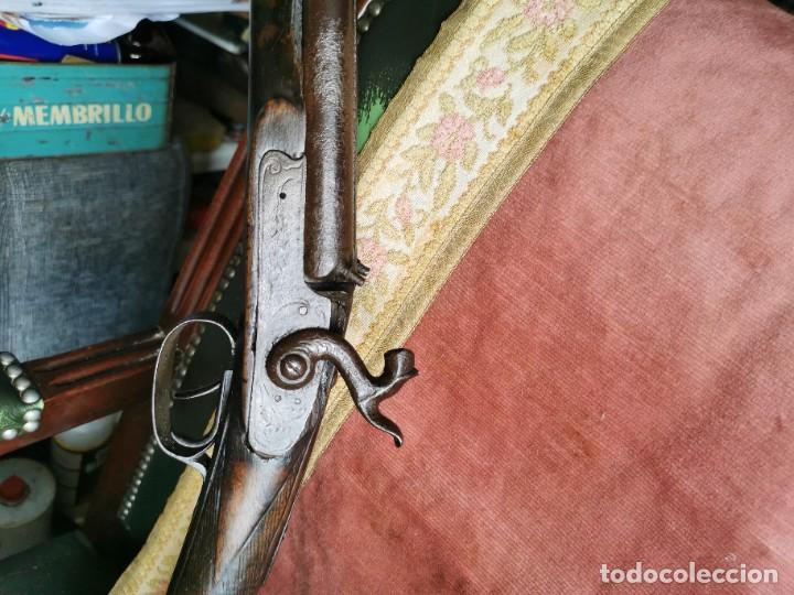 Militaria: Escopeta de avancarga de pistón. Mediados del siglo XIX. Inutilizada. Leer bien el anuncio - Foto 6 - 270221148