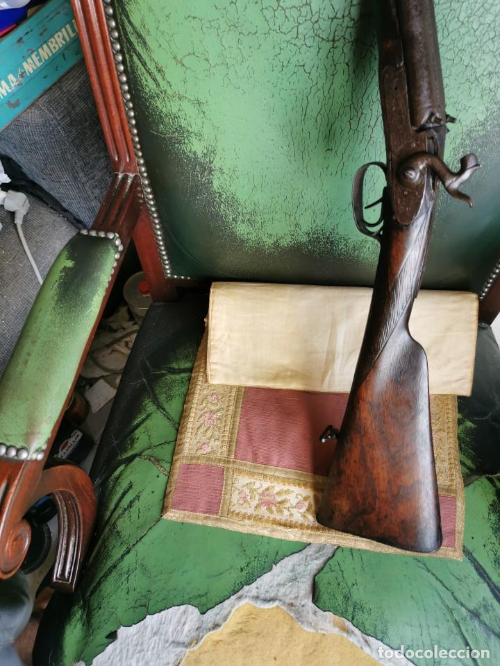 Militaria: Escopeta de avancarga de pistón. Mediados del siglo XIX. Inutilizada. Leer bien el anuncio - Foto 13 - 270221148