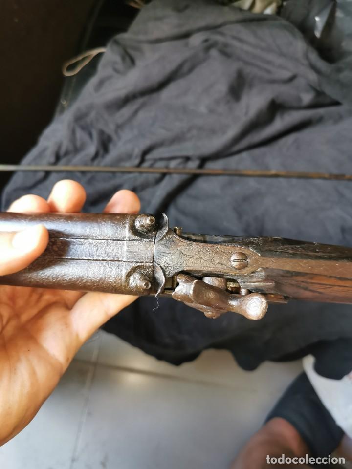 Militaria: Escopeta de avancarga de pistón. Mediados del siglo XIX. Inutilizada. Leer bien el anuncio - Foto 20 - 270221148