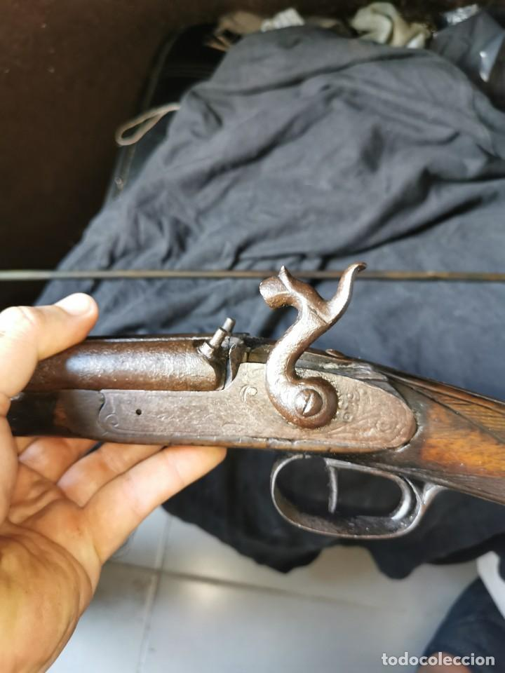 Militaria: Escopeta de avancarga de pistón. Mediados del siglo XIX. Inutilizada. Leer bien el anuncio - Foto 21 - 270221148