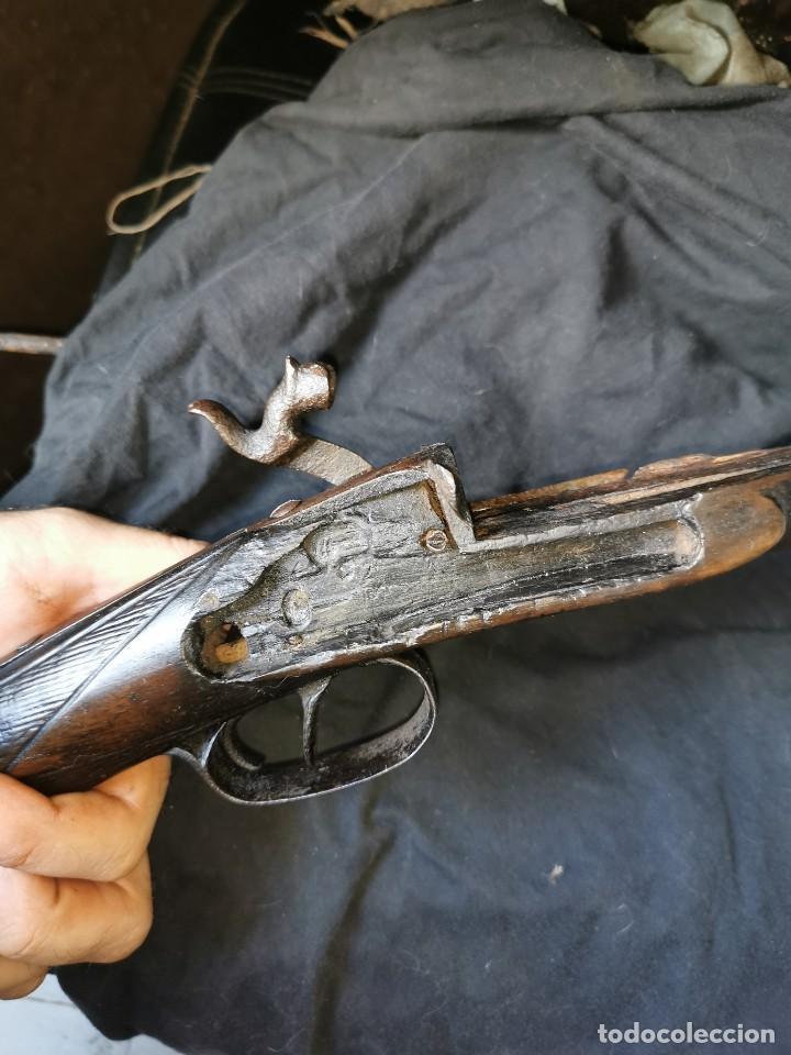 Militaria: Escopeta de avancarga de pistón. Mediados del siglo XIX. Inutilizada. Leer bien el anuncio - Foto 27 - 270221148