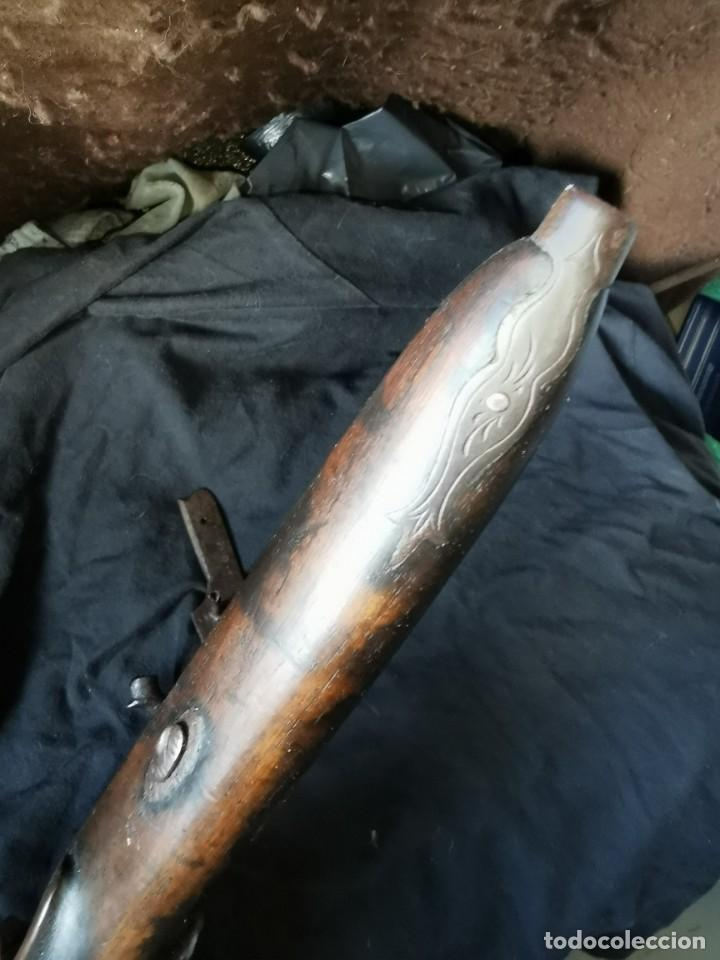 Militaria: Escopeta de avancarga de pistón. Mediados del siglo XIX. Inutilizada. Leer bien el anuncio - Foto 32 - 270221148