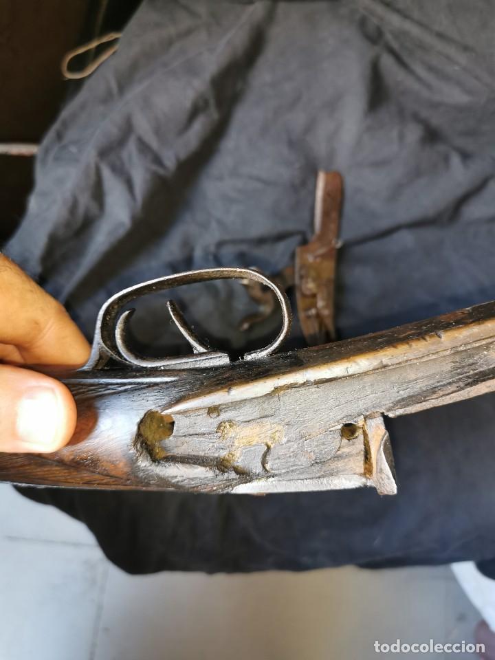 Militaria: Escopeta de avancarga de pistón. Mediados del siglo XIX. Inutilizada. Leer bien el anuncio - Foto 36 - 270221148