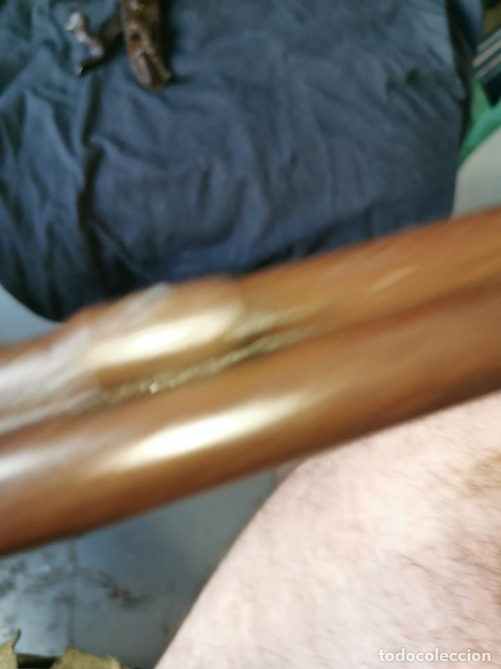 Militaria: Escopeta de avancarga de pistón. Mediados del siglo XIX. Inutilizada. Leer bien el anuncio - Foto 48 - 270221148