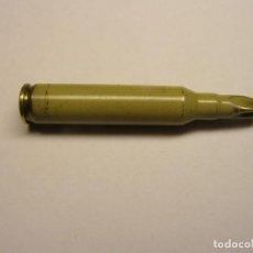 Militaria: CARTUCHO INERTE CALIBRE 5.56 X 45 MM., DE FOGUEO.. Lote 270522598