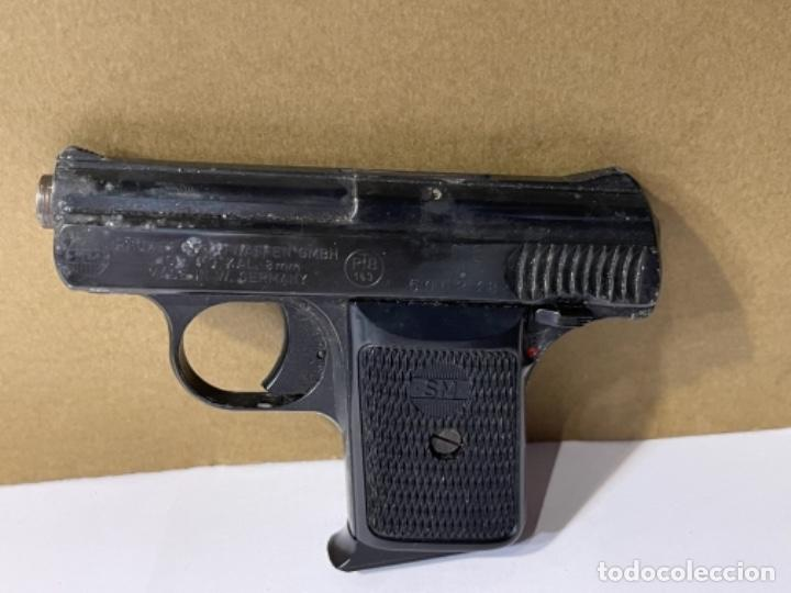 PISTOLA RHONER SM SPOTWAFFEN 8 MM (G) (Militar - Armas de Fuego Inutilizadas)