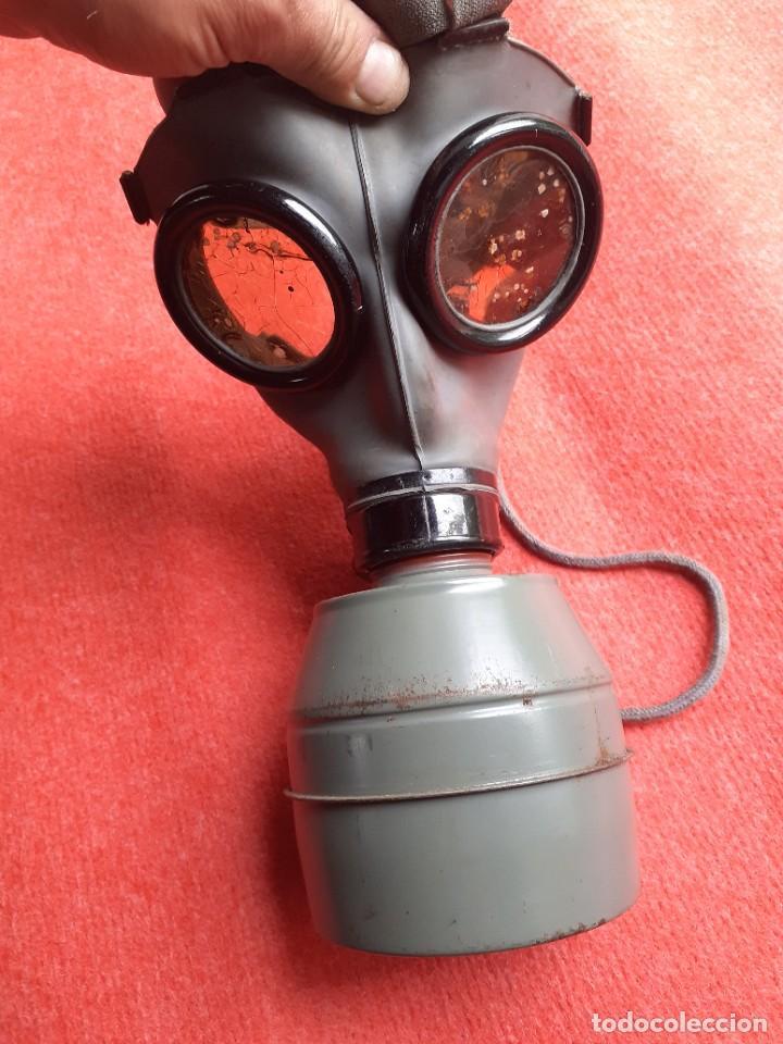 Militaria: MASCARA ANTI GAS WWII 1939 - Foto 6 - 271605858