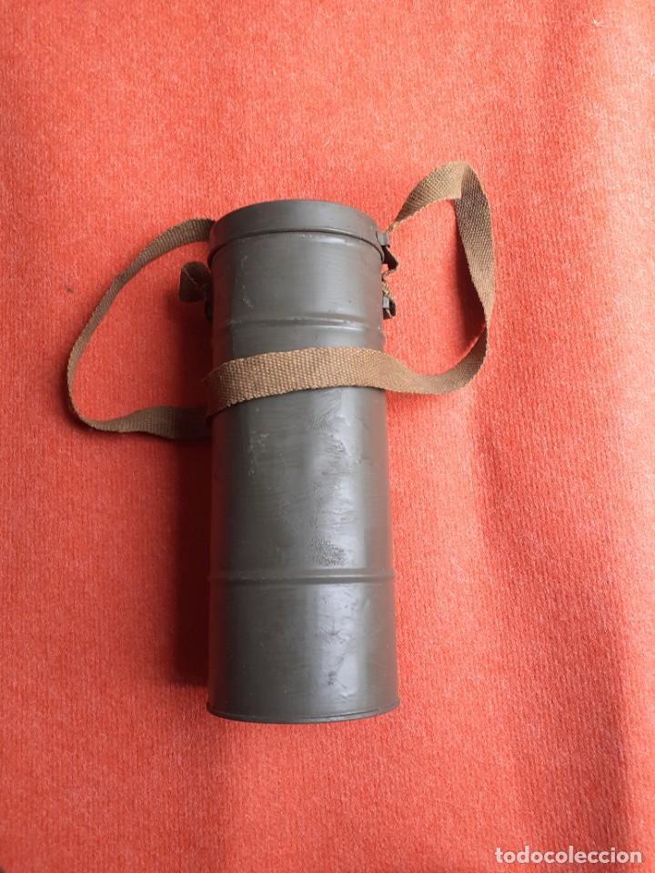 Militaria: MASCARA ANTI GAS WWII 1939 - Foto 7 - 271605858