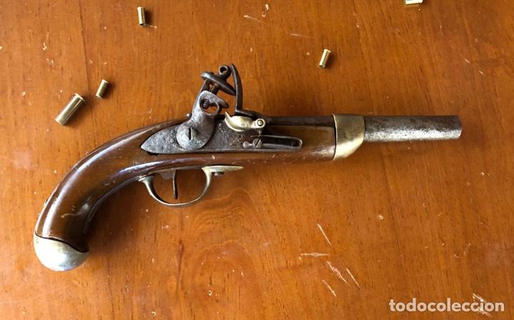 PISTOLA CABALLERÍA ESPAÑOLA MODELO 1815 (Militar - Armas de Fuego Inutilizadas)