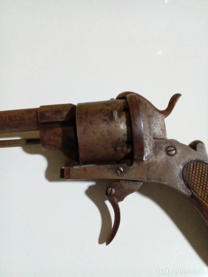 Militaria: Revolver percusión Lefaucheaux enmarcado en bonito cuadro para coleccionistas - Foto 10 - 275151383