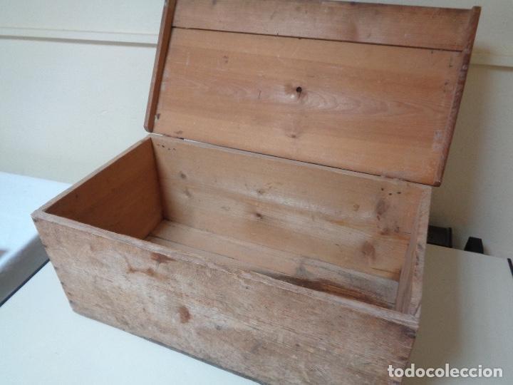 Militaria: caja o baúl utilizado por CNT para transporte municiones frente Aragon - Foto 3 - 278556218