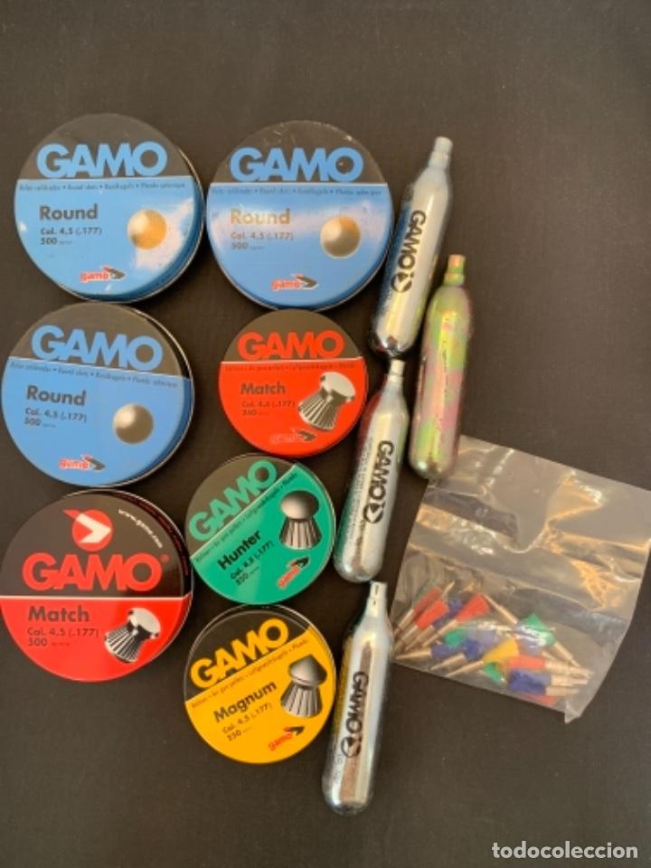 GAMO ROUND MATCH CALIBRE 4,5 AIRE COMPRIMIDO (Militar - Cartuchería y Munición)