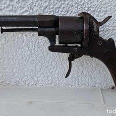 Militaria: ANTIGUO REVOLVER LEFAUCHEUX, 1870, SISTEMA PIN, CALIBRE 9MM. MODELO OFICIAL, MUY BUEN ESTADO.. Lote 288063573