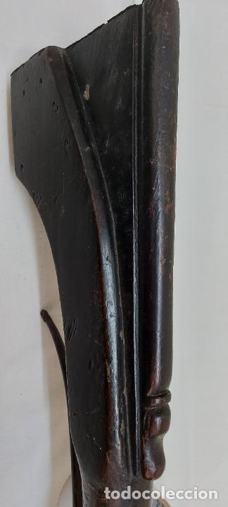 Militaria: Trabuco de chispa de llave de serpiente. - Foto 8 - 253003210