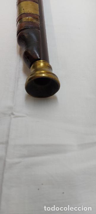 Militaria: Trabuco de chispa de llave de serpiente. - Foto 9 - 253003210