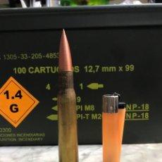 Militaria: MUNICIÓN CALIBRE 50 BMG. Lote 289909838