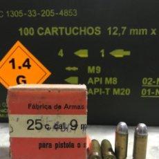 Militaria: 9 LARGO INERTE AÑO 1967. Lote 289919268