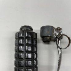 Militaria: GRANADA DE MANO CILINDRICA REPUBLICANA, INERTE. Lote 292097548