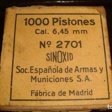 Militaria: PISTONES. Lote 292619928