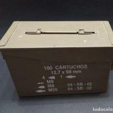 Militaria: CAJA PARA MUNICIÓN. Lote 295999803