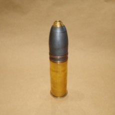Militaria: PROYECTIL INERTE DE 37 MM HOTCHKISS FRANCES, ROMPEDOR. Lote 297109348