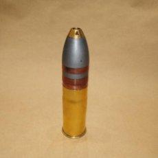 Militaria: PROYECTIL INERTE DE 37 MM HOTCHKISS ALEMAN, ROMPEDOR. Lote 297109558
