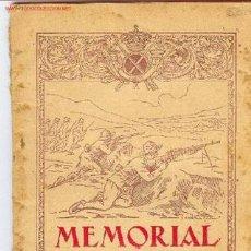 Militaria: MEMORIAL DE INFANTERIA 1930. Lote 600573
