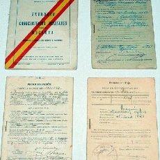 Militaria: ANTIGUO LOTE AÑOS 30 DE EXTRACTO DE CONOCIMIENTOS MILITARES DEL RECLUTA, CARTILLA DE REGIMIENTO DE . Lote 8495720