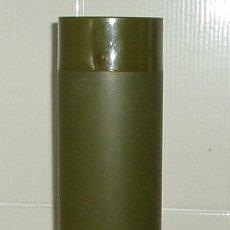 Militaria: TUBO VACIO DE PLÁSTICO PORTA-PROYECTIL. DESCONOZCO MODELO. LONGITUD 55 CM. PESO 137 GRAMOS. Lote 238797960