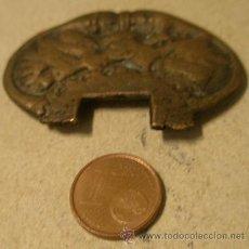 Militaria - Pieza de cazoleta de espada de ceñir (rota) - 24444034