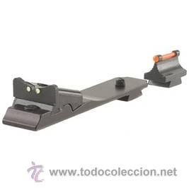 SET DE ALZA Y PUNTO PARA RIFLE EN FIBRA OPTICA (Militar - Otros Artículos Relacionados con Armas)