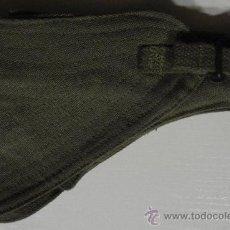 Militaria: PISTOLERA CON PORTACARGADOR DE LONA VERDE PARA 9L. Lote 30021308
