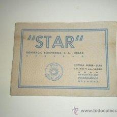 Militaria: DESCRIPCION FUNCIONAMIENTO DESARME PISTOLA SUPER STAR BONIFACIO ECHEVERRIA AÑO 1947. Lote 153097374