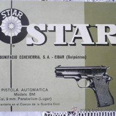 Militaria: MANUAL DE USUARIO DE PISTOLA STAR MOD. BM CAL. 9MM. PB. GUARDIA CIVIL.. Lote 231337735