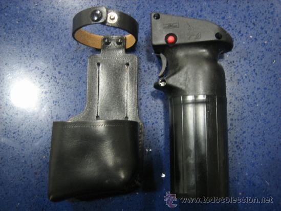 061342b1bed 2 fotos PISTOLA SPRAY DE DEFENSA POLICIAL (Militar - Otros Artículos  Relacionados con Armas) ...