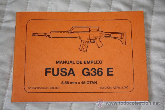 Manual Del Fusil Hk G36 Verkauft Durch Direktverkauf 36526987