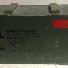 Militaria: CAJA DE MADERA MILITAR MUNICION. Lote 39936757