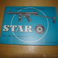 Militaria: ANTIGUO MANUAL DE INSTRUCCIONES DE SUBFUSIL AMETRALLADOR STAR Z-70B. Lote 48966040