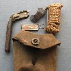 Militaria: CONJUNTO SUIZO PARA LIMPIAR ARMA DE FUEGO, USO MILITAR AÑOS 60/70 APROX. Lote 53301060