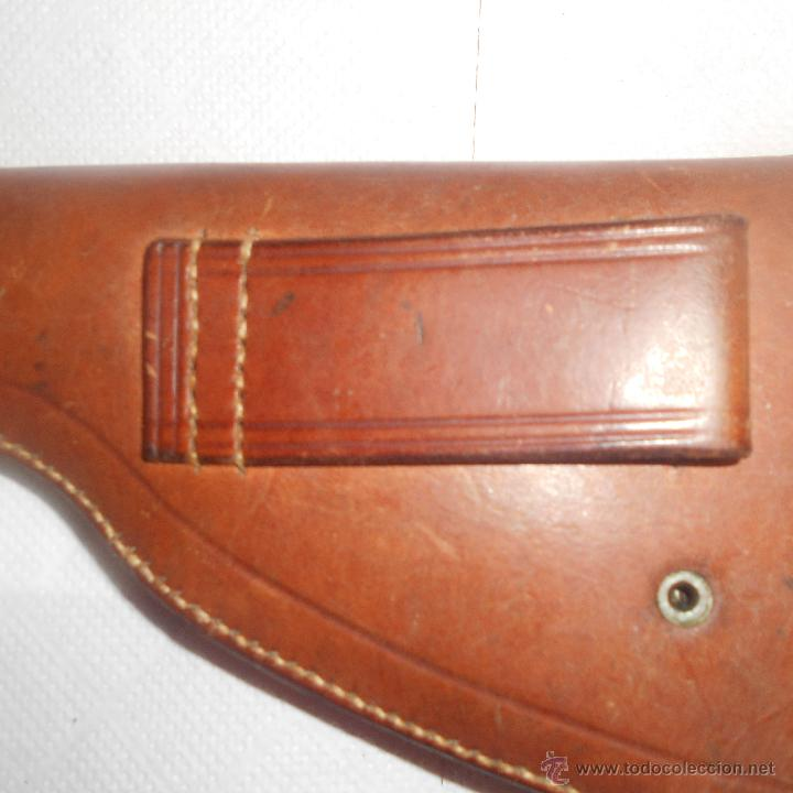 Militaria: funda de revolver calibre 38--largo - Foto 6 - 54844713