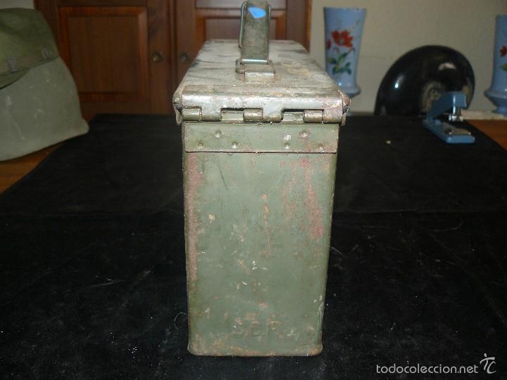 Militaria: Caja vacía de munición de 7,62, hermética, americana - Foto 3 - 57542864