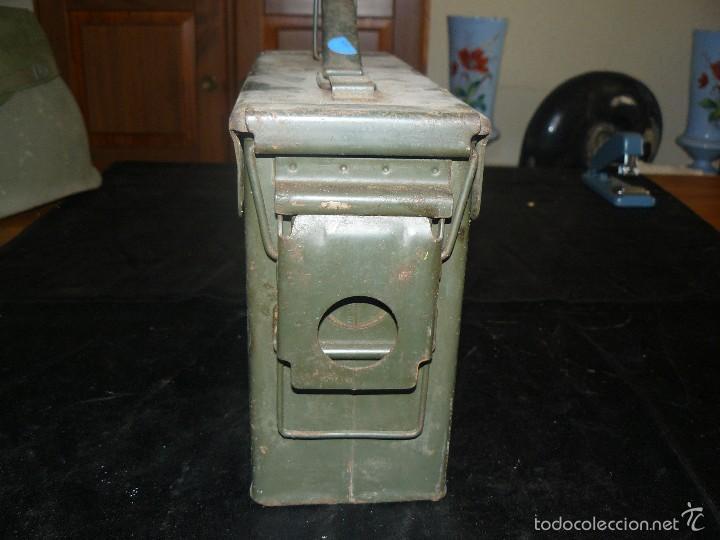 Militaria: Caja vacía de munición de 7,62, hermética, americana - Foto 4 - 57542864
