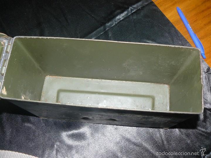 Militaria: Caja vacía de munición de 7,62, hermética, americana - Foto 6 - 57542864